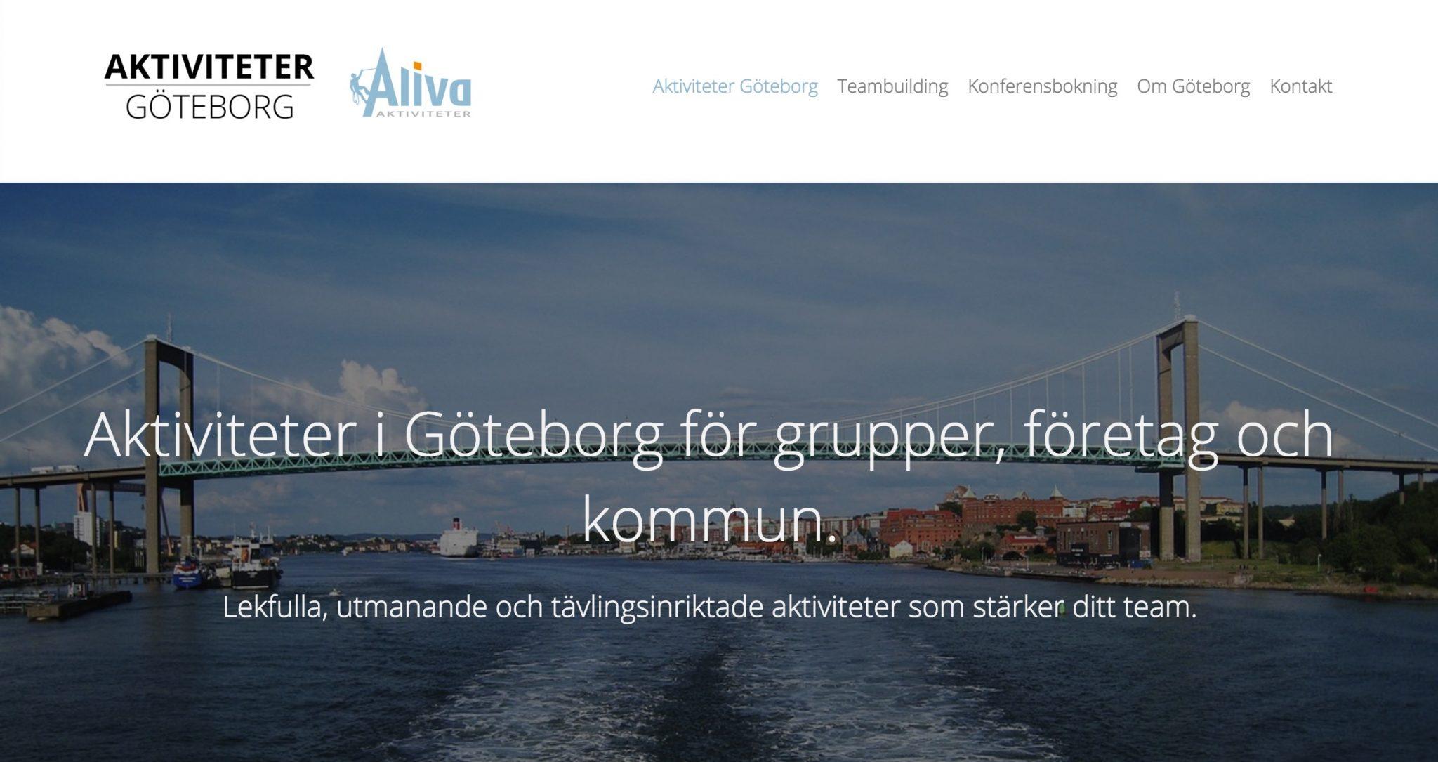 Företagsaktiviteter Göteborg
