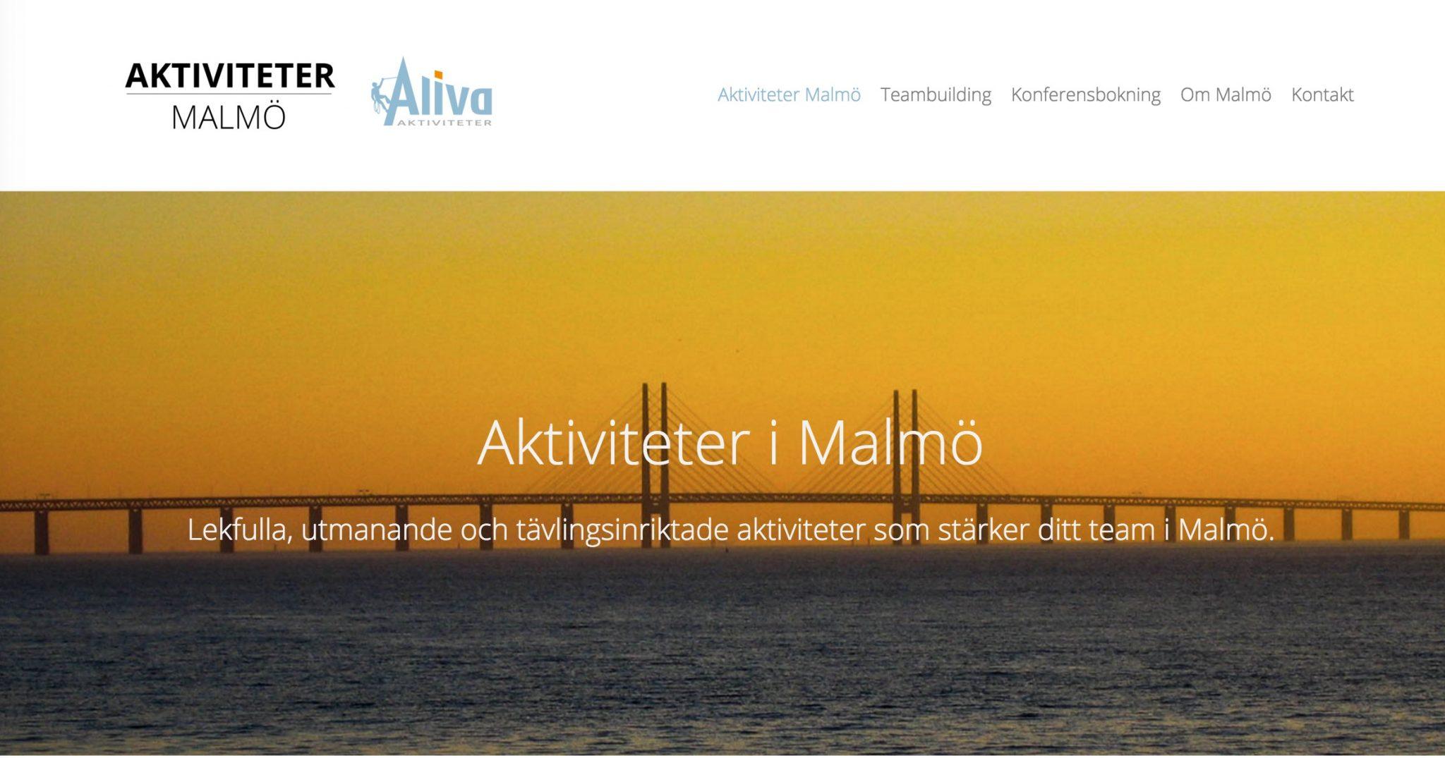 Malmö företag aktiviteter