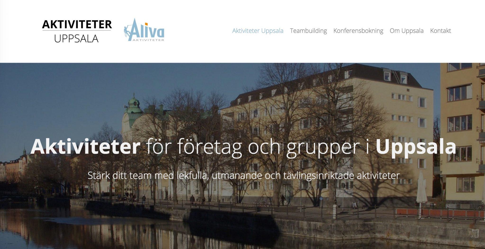 Uppsala aktiviteter företag